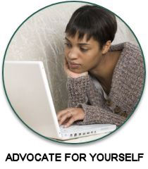 find articles to help you advocate for yourself